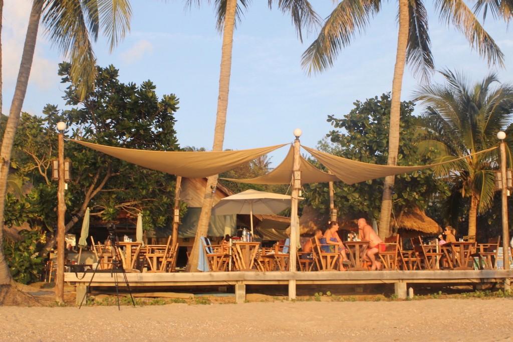 Koh Tao, Sai Ree Beach, Bar sur la plage