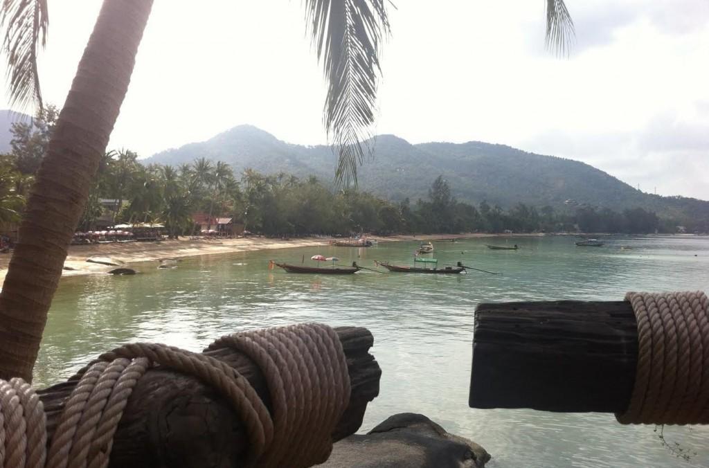 Koh Tao, Koh Tao Cabana, Vue depuis le restaurant