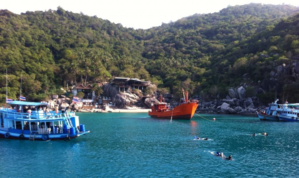 Koh Tao, Plongée sous-marine, Spot de plongée