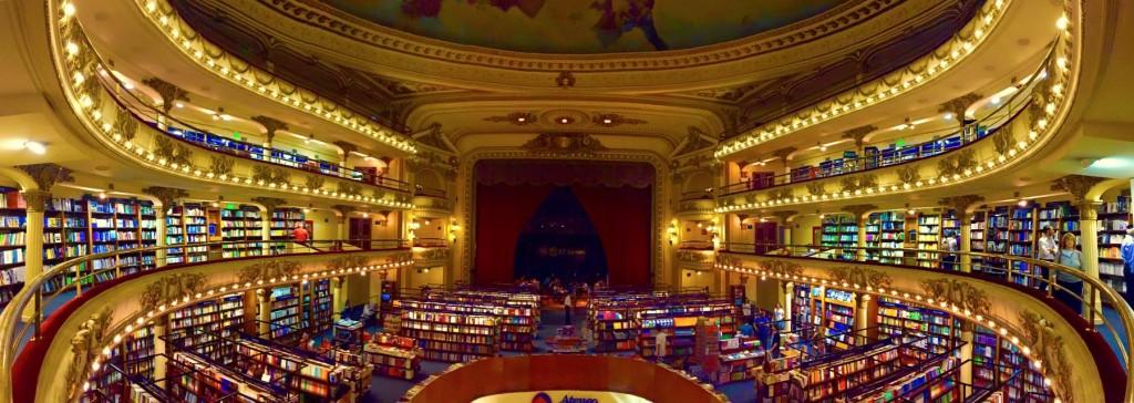 Buenos Aires, librairie El Ateneo Grand Splendid