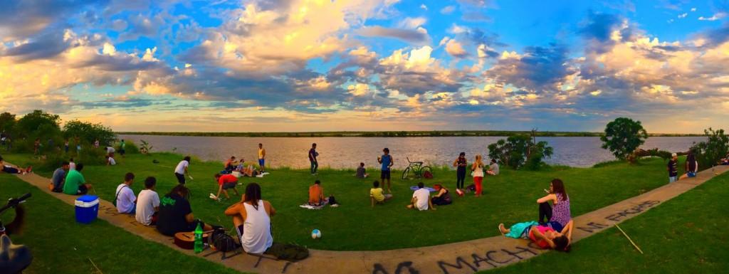 Rosario, un dimanche dans le parc